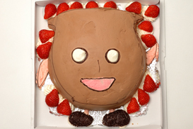 どきたんケーキ